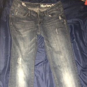 Hurley Jeans - Hurley Studded Jeans sz7